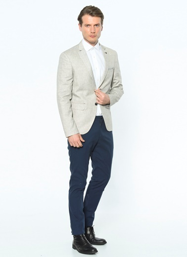Dewberry Slim Fit Blazer Ceket Siyah